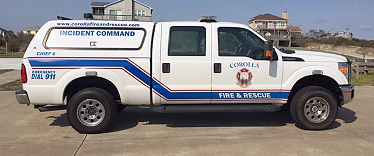 Corolla Fire & Rescue - Apparatus - Chief 6