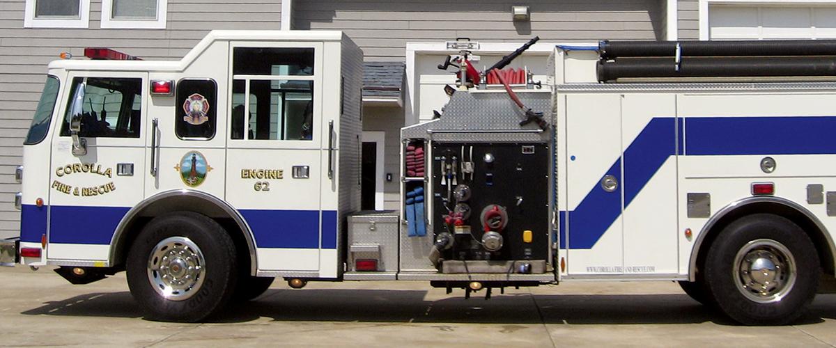 Corolla Fire & Rescue - Apparatus - Engine 62