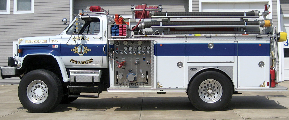 Corolla Fire & Rescue - Apparatus - Engine 64