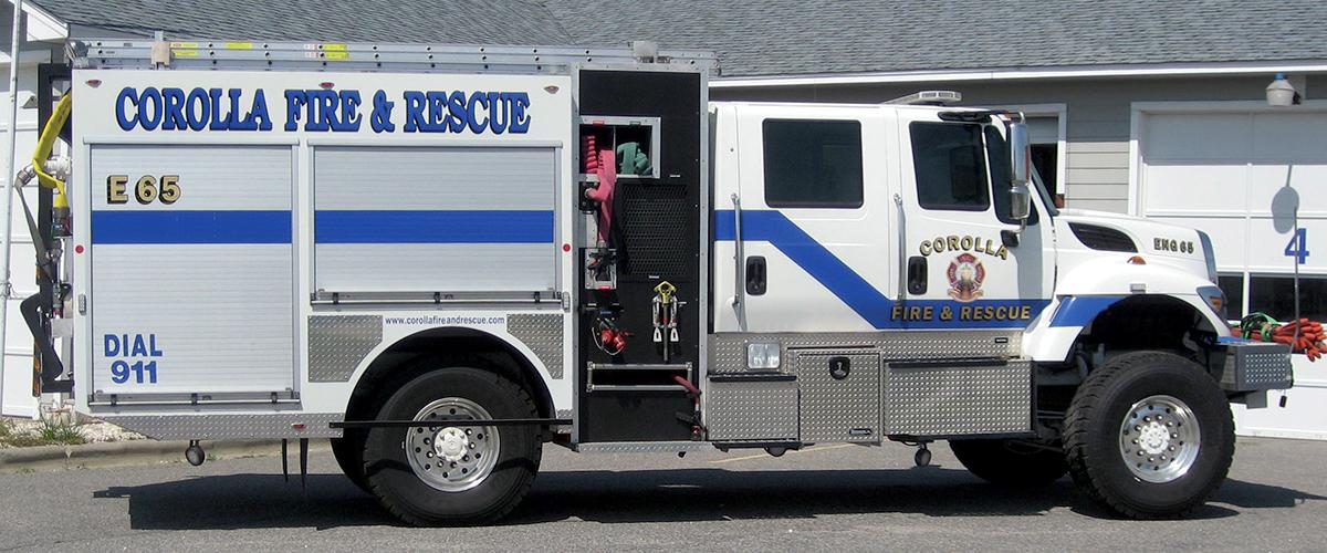 Corolla Fire & Rescue - Apparatus - Engine 65
