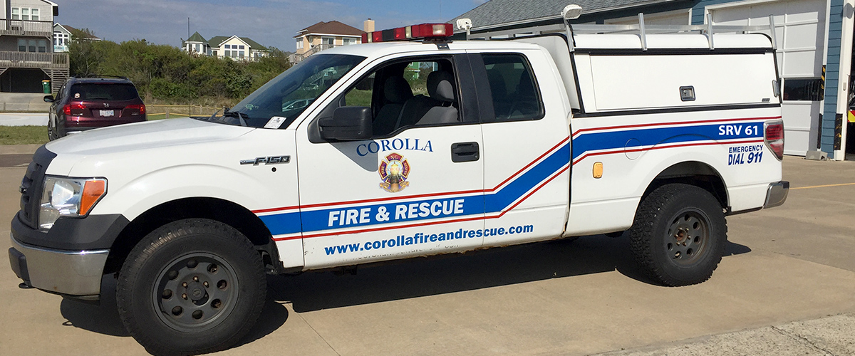 Corolla Fire & Rescue - Apparatus - SRV 61