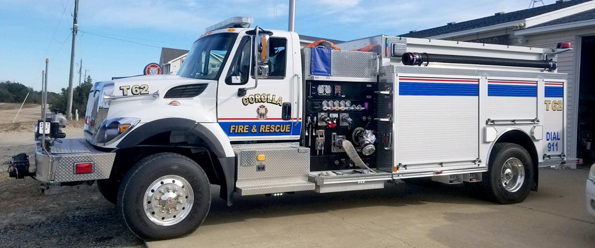 Corolla Fire & Rescue - Apparatus - Tanker 62