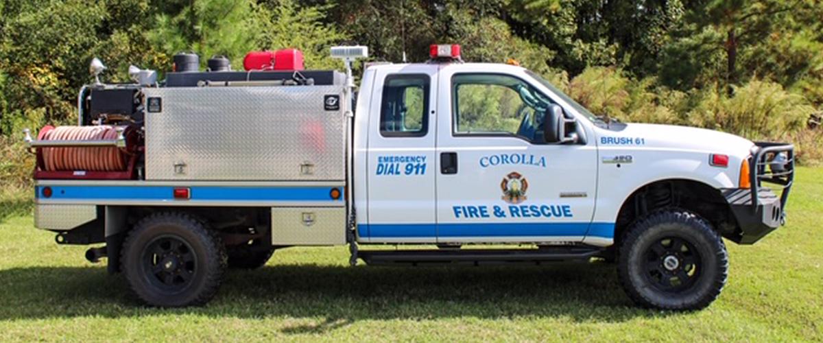 Corolla Fire & Rescue - Apparatus - Brush 61