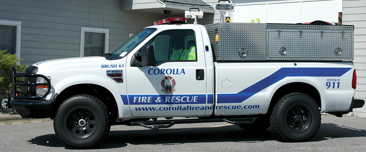 Corolla Fire & Rescue - Apparatus - Brush 62