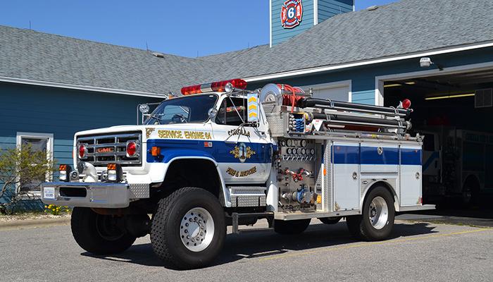 Corolla Fire & Rescue Truck