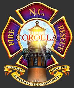 Corolla Fire Rescue Badge Logo